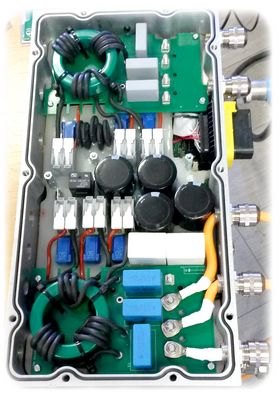 Module chargeur de batterie 22kW bi-directionnel