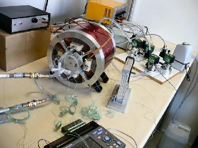 Prototype de réfrigération magnétique